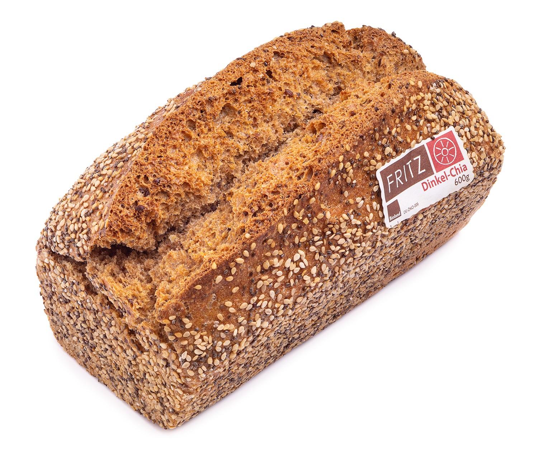 Bio Dinkel-Chia Brot